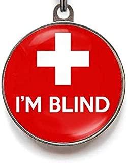 Wag-A-Tude Tags I'm Blind Custom Medical Pet Tag
