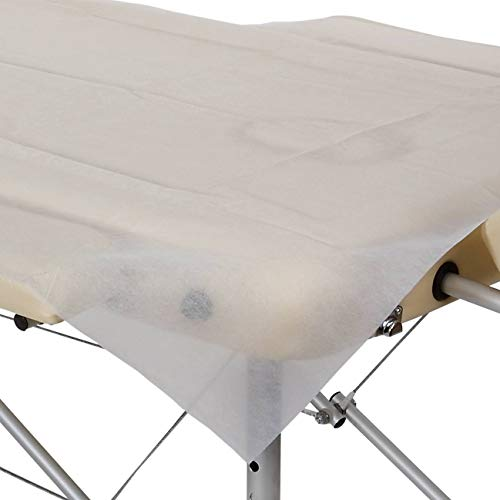 Hygiene-Auflage für Massageliegen, Vlies, wasser- und ölfest, 180 x 80 cm, 10 Stück