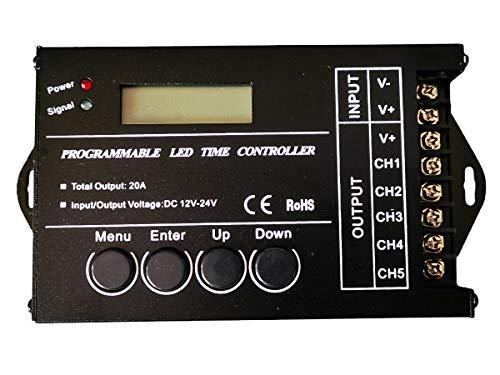 Luz LED con temporizador para acuarios, aviarios e invernaderos TC420