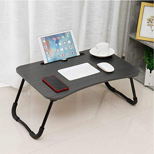 60x40x28cm Portable Laptop Desk Foldable Legs Cozy Stand Notebook Table Tray Computer Desks Dormitory Bed Desk Study Furniture-A
