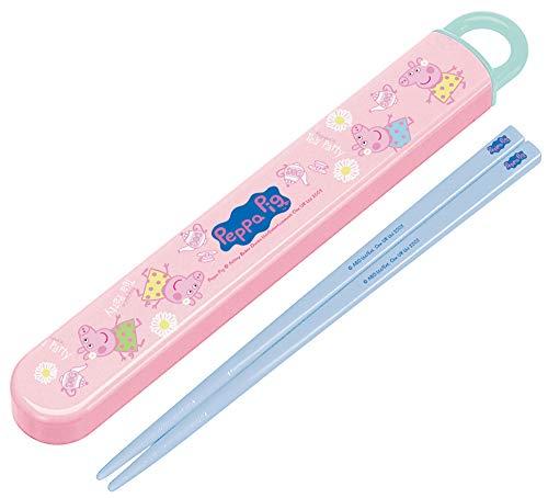 スケーター 子供用 箸 箸箱セット ペッパピッグ 日本製 16.5cm ABS2AM