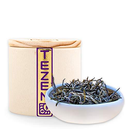 """Grüner Tee """"Silber Fäden"""" aus Yunnan, China   Hochwertiger chinesischer Grüntee   Hochland Tee, pestizidfreier Anbau (80g)"""