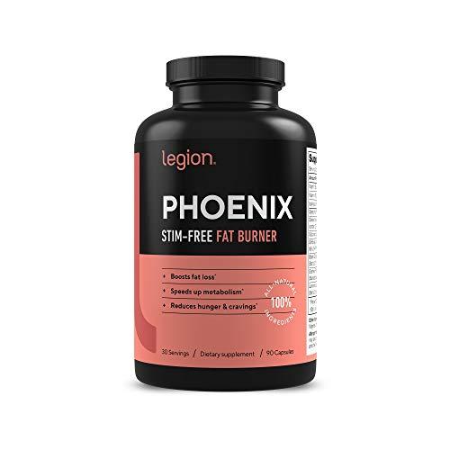 Legion Phoenix Thermogenic Fat Burners & Weight Loss Pills - 30 Serv,...