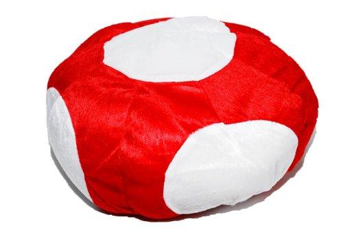 Hat cosplay costume headdress of Super Mario mushroom (japan import)