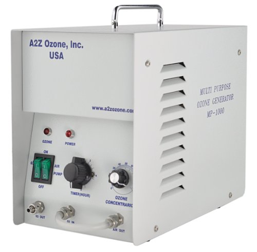A2Z Ozone MP-1000 Ozone Generator | Sanitize Water and Most Surfaces