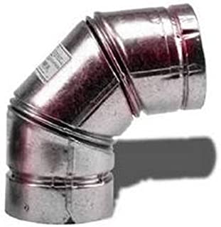SELKIRK CORP 243230 3-Inch 90DEG Pellet Elbow