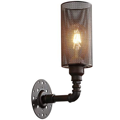 Wandstalen wandlamp zet oude wegen industrie wind originaliteit stropdas Yi net wandlamp Amerikaanse stijl balkon trap wandlamp kledingwinkel decoratie wandverlichting