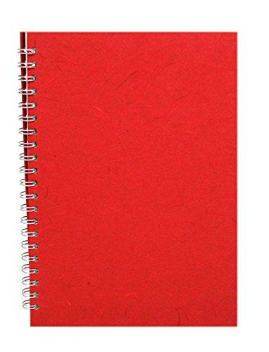 Pink Pig A4Hochformat | Einband weiß Kartusche, 35Blätter | rot