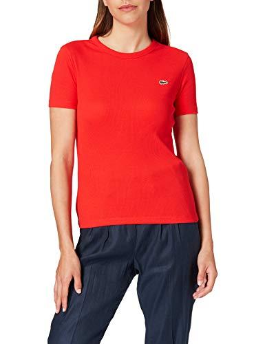 Lacoste TF5463 Camiseta, Groseillier, 40 para Mujer