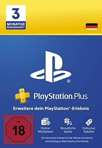 PlayStation Plus Mitgliedschaft   3 Monate   deutsches Konto   PS5/PS4 Download Code