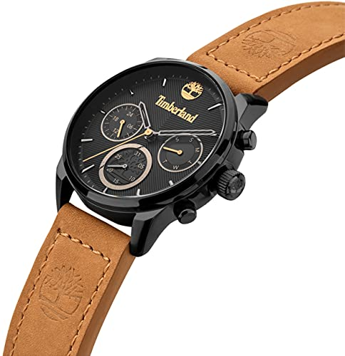 Timberland Reloj Analógico para Mujer de Cuarzo con Correa en Cuero TDWLF2101903