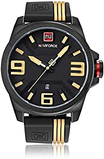 Naviforce Casual Watch For Men Analog Rubber - 9098
