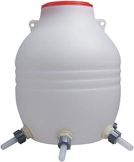 Yardwe Lamb Milk Bucket Milk Feeding Bucket with Nipples Large Capacity Animal Feeding Pot for Farm Lamb Dog Pig