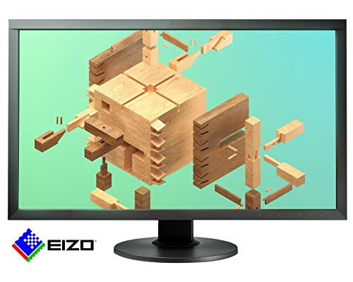 EIZO ColorEdge CS2731 68,5 cm (27 Zoll) Grafik Monitor (DVI-D, HDMI, USB 3.1 Hub, USB 3.1 Typ C, DisplayPort, 10 ms Reaktionszeit, Auflösung 2560 x 1440, Wide Gamut) schwarz