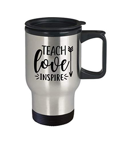 ChGuangm MUG Teach Love Inspire Travel Mug