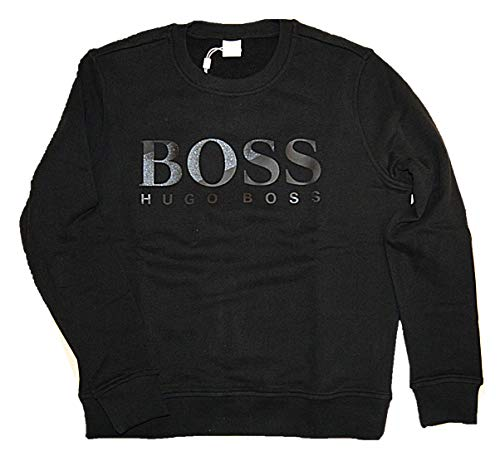 BOSS Casual Damen Sweatshirt Tastitch Schwarz L