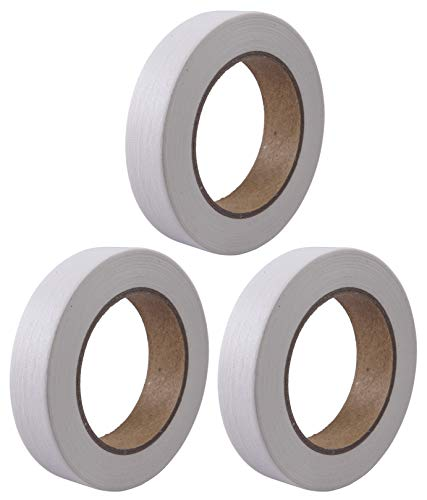 Masking Tape 3-Pack � White � 1 Inch by 55 Yards per Roll � All-Purpose, Easy to Tear and Easy to Remove, Painter�s Tape, No Residue