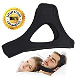 Anti Snoring Chin Straps-Adjustable Comfortable Stop Snoring Devices-Sleep Aid Snore Stopper Solution-Relief Anti-snore