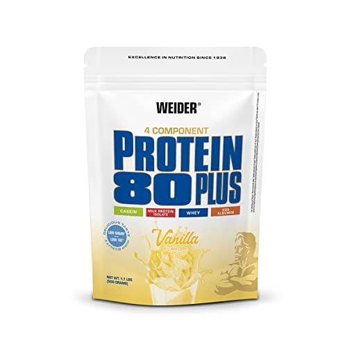 Weider Proteinpulver Protein 80+, Vanille, 500 g