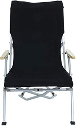 Hxx Chaise de Camp Pliante, Chaise Pliante extérieure légère Chaises de Loisirs Multifonctions Portables Chaise de pêche en Alliage d'aluminium,C