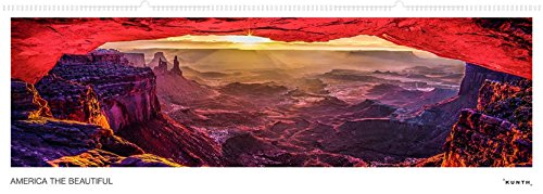 America the Beautiful - Wandkalender: Panoramaformat, immerwährend (KUNTH Wandkalender Panorama 101 x 35 cm)