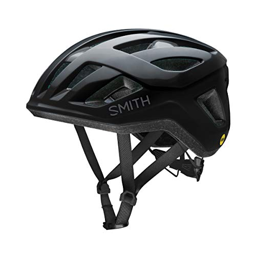 SMITH Unisex– Erwachsene Signal MIPS Fahrradhelm, Black, Small 51-55 cm