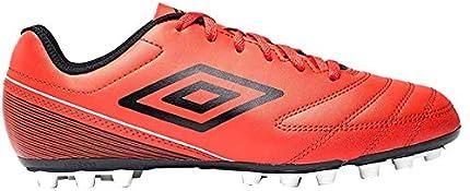 Umbro Classico VII AG, Botas de fútbol Hombre, Rojo (Goji Berry/Black/White Gy2), 41 EU