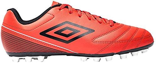 Umbro Classico VII AG, Botas de fútbol Hombre, Rojo (Goji Berry/Black/White Gy2), 42 EU