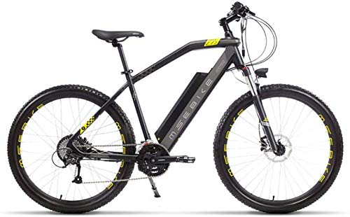 High-speed 27.5-Inch 27-Speed Folding Electric Mountain Bikes, Lithium Battery Aluminum Alloy Light And Convenient for Off-Road Vehicles for Men And Women