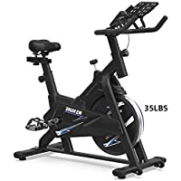 ACG Spin Indoor Cycling Bike With LCD Monitor & Comfortable Seat