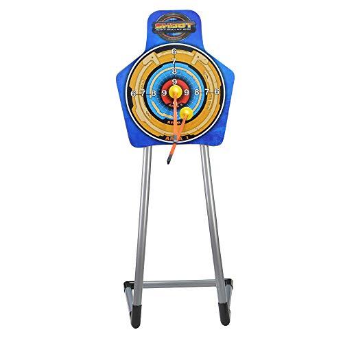 ZSHJG Zielscheibe mit Ständer für Bogenschützen Kinder Jugend Zielscheibe + Ständer für Gartenspiele im Freien Praxis Training (Type 1)