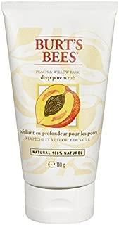 Burts Bees Peach & Willowbark Deep Pore Scrub - 4 oz