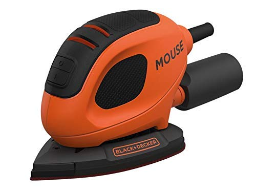 Black+Decker BEW230-GB Detail Mouse Sander, 55 W