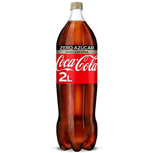 Coca-Cola Zero Azúcar Zero cafeína - Refresco de cola sin azúcar, sin calorías, sin cafeína - botella 2 L