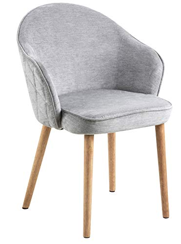Amazon Brand - Movian Sils - Silla de comedor, 46,5 x 63 x 80 cm, gris