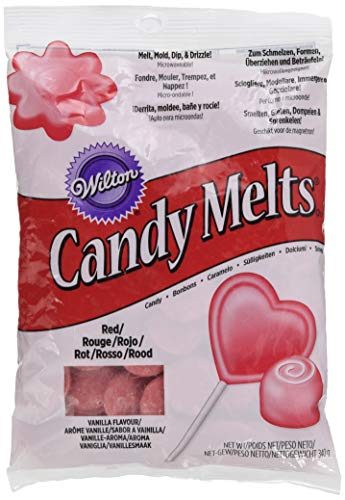 Wilton Candy Melts rot, 1er Pack (1 x 340 g)