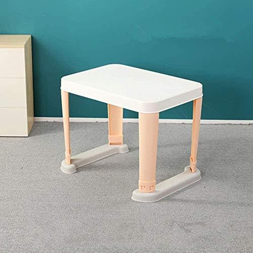 Tägliche Ausrüstung Kinder Schreibtisch und Stuhl Set Kinder Schreibtisch und Stuhl Kinder Kunststoff Spieltisch Kinder Kunst Malerei Schreibtisch Rutschfestes Design Starke Tragfähigkeit für Klein