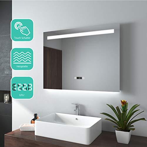Miroir salle de bains avec éclairage