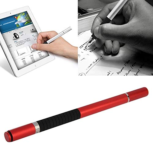 GUPENG Stylus Pen for Touchscreen, 2 in 1 Stylus Touch Pen + Ball Pen, for iPhone 6 & 6 Plus / 5 & 5S & 5C/ iPad Air 2 / iPad mini 1/2 / 3 / New iPad (iPad 3) (Color : Red)