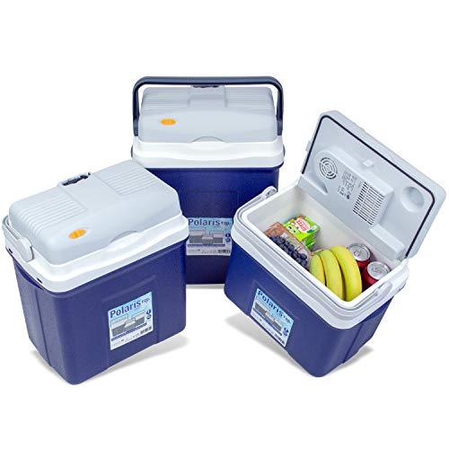 noorsk elettrica Borsa frigo con Attacco 12Volt Diverse Misure Contenitore Termico per Auto e Campeggio, Grau, 27 l
