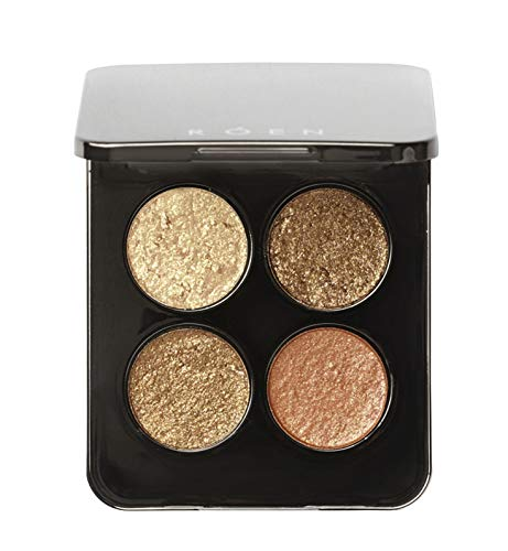 ROEN - Natural 75 Degrees Warm Eye Shadow Palette | Vegan, Cruelty-Free, Clean Makeup