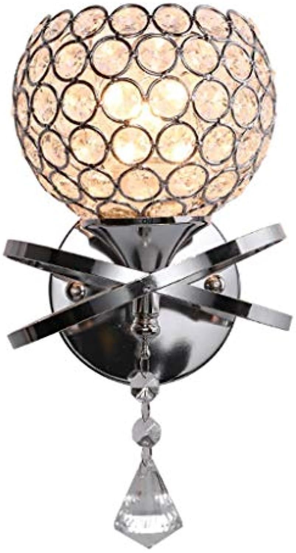 Zhang Yan ZYY  American Einfache Schmiedeeisen Wandleuchte Persnlichkeit Mode Exquisite Kristall Wandleuchte Kreative Wohnzimmer Schlafzimmer Korridor Treppenbeleuchtung Leuchte