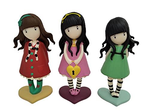COMANSI - Set Colección GORJUSS New - 3 Figuras