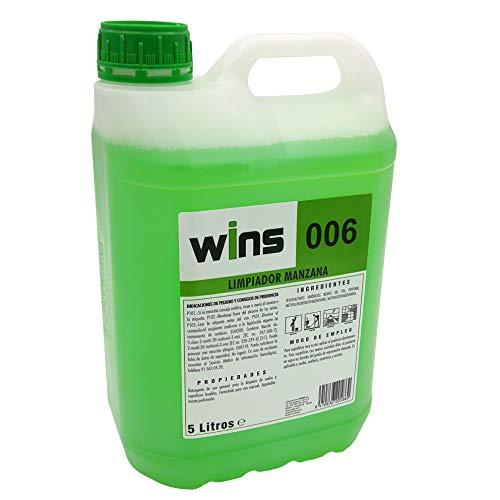 Limpiador fregasuelos Neutro Manzana 5 litros