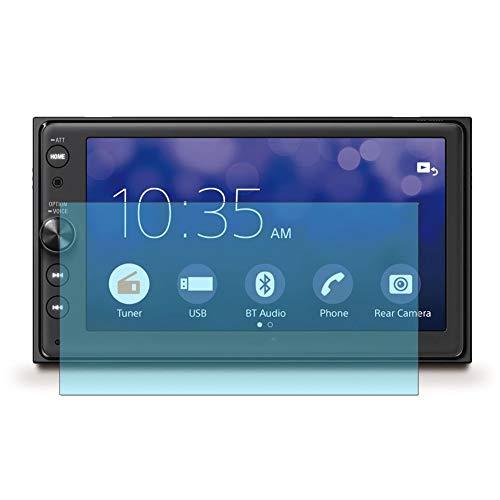 Vaxson 2-Pack Anti Luce Blu TPU Pellicola Protettiva, compatibile con SONY XAV-AX100, Screen Protector Film [ Non Vetro Temperato ]