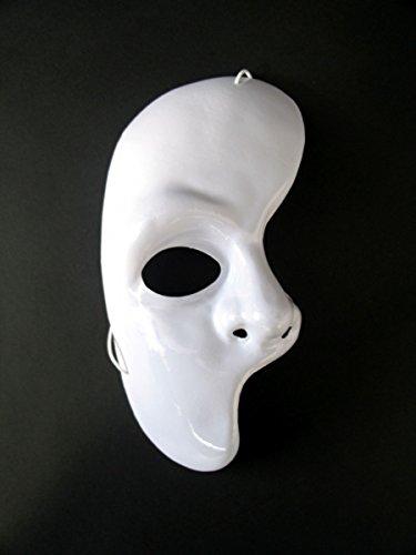 Festartikel Müller Maske Phantom der Oper - eine Gesichtshälfte