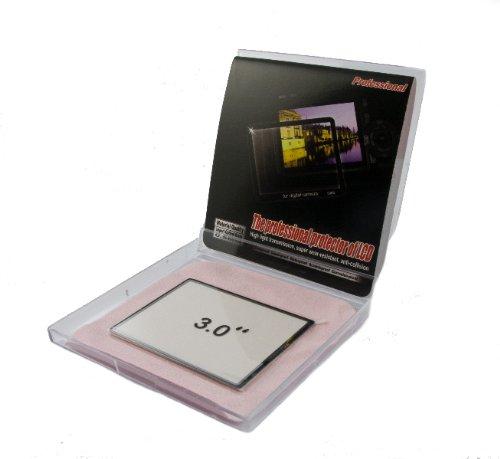 Professional 6 Schicht Echtglas Display Schutz - Für Fuji HS20 EXR / HS22 EXR / HS25EXR/ HS30EXR / HS50EXR
