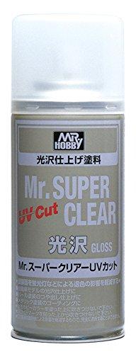 GSIクレオス Mr.スーパークリアー UVカット 光沢 スプレー 170ml ホビー用仕上材 B522