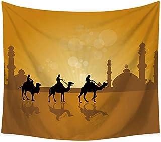 منشفة للشاطئ تعلق على الحائط من قماش الجمل الصحراوي لغرفة النوم والمنزل وغرفة المعيشة والنوم