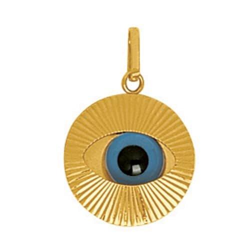 So Chic Gioielli - Ciondolo Amuleto Protection Mauvais Occhio Oro Giallo 750/000 (18 carats)